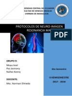 Protocolo Neuro Imagen