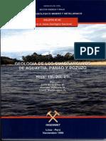Geología - Cuadrangulo de Aguaytía %2819l%29%2C Panao %2820l%29 y Pozuzo %2821l%29%2C1996.PDF