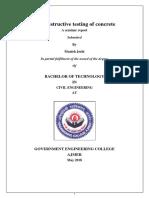 NDT seminar report