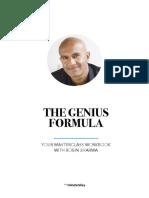 The Genius Formula With Robin Sharma Masterclass Workbook Sp 7 (1)
