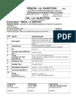Pencin - LA Injection 100ml SAP-V-F-139