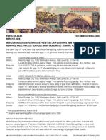Press Release New Programs