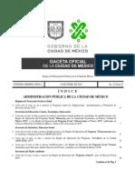 Reglas de Operación Del Programa Servidores de La Ciudad