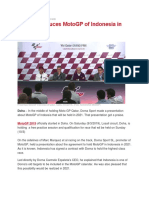 Dorna Introduces MotoGP of Indonesia in Qatar-news 5.docx