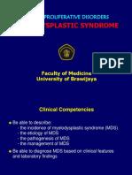 17b. Myelodysplastic Syndrome Rev 2016