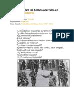 Entrevista sobre los hechos ocurridos en  masacre de polvorín.docx