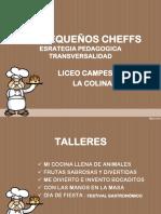 Proyecto de Cocina Infantil Los Mini Cheffss.