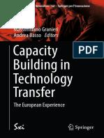 (SxI - Springer for Innovation _ SxI - Springer Per l'Innovazione 14) Massimiliano Granieri, Andrea Basso-Capacity Building in Technology Transfer-Springer International Publishing (201