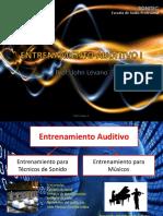 Entrenamiento Auditivo I