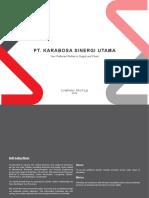 Karabosa-Company Profile 2018