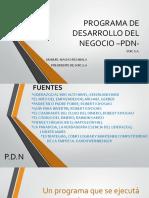 un programa para desarrollo de negocios