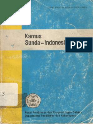 Kamus Sunda Indonesia 449h A Pdf