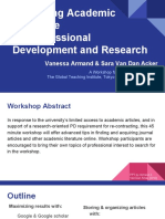accessing academic literature  for professional development and research