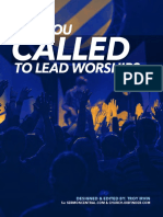 Are You Called to Lead Worship