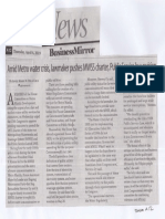Business Mirror, Apr. 4, 2019, Amid Metro water crisis lawmakers pushes MWSS charter Public Service law revision.pdf