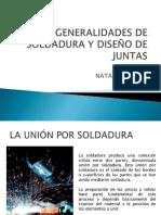Generalidades de Soldadura y Diseno de Juntas