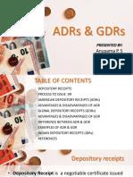 ADR, GDR & IDR
