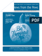 News From the Pews, November 2010