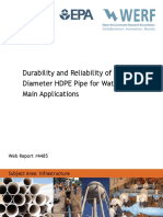 Durability and Reliability of Large HDPE pipes for water mains.pdf