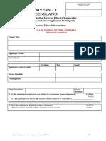 School Ethics Applicationform
