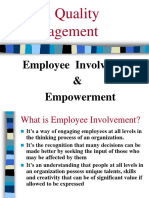 Chapter - 2 Employee Involvement & Empowerment