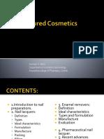 Coloured Cosmetics