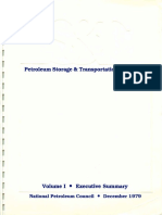 Petrol Storage Transport 1979 v1 Exec Summary