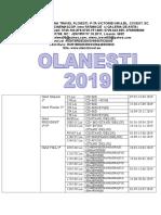 OLANESTI 2019