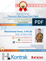 Materi Power Point Efektif