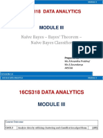 3.5 Session 14 - Naive Bayes Classifier