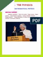 Pg Trb Physics Study Material 1
