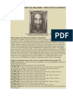 Little Chaplet of the Holy Face (Chaplet of Reparation)