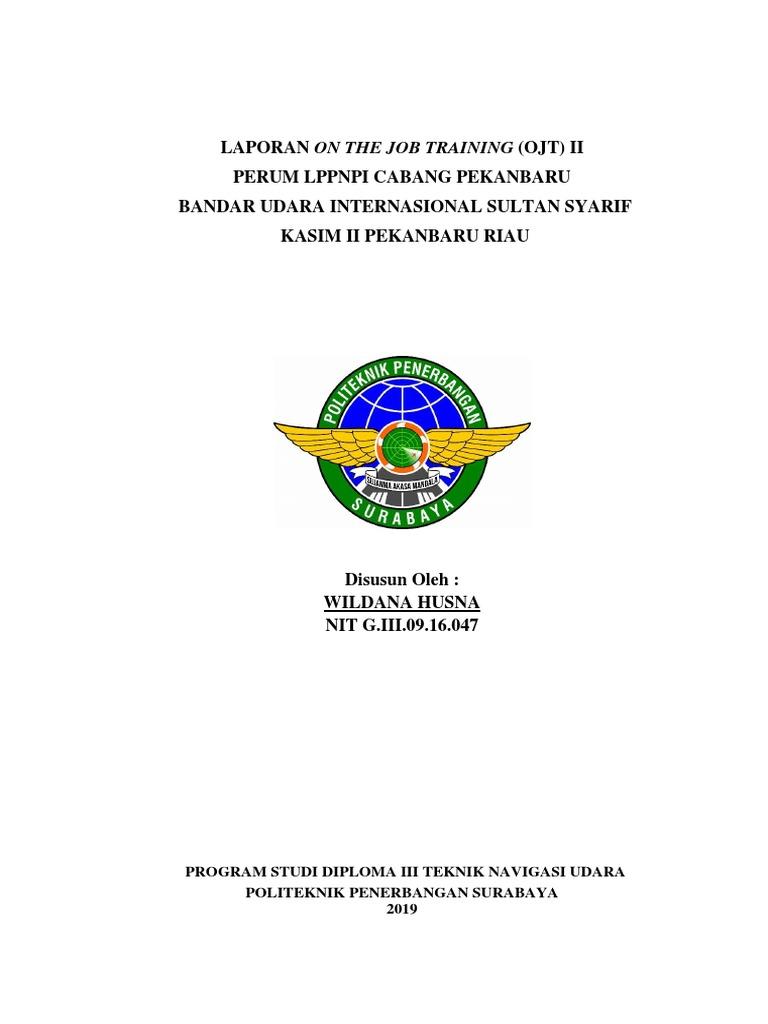 Laporan Ojt Airnav Indonesia