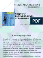 Chap7 Business-level Strategies
