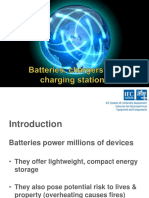 Batteries, Chargers & Charging Stationns