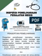 Inspeksi Dan Pemeliharaan Peralatan Medis