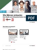 Wie Männer einkaufen – Studie zum Einkaufsverhalten deutscher Männer