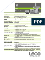 Spec Sheet Pegasus BT 4D