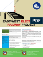 EastWest Electric Railway Project