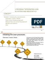 APO E Learning Integrating Lean Mfg System With Ind 4.0 Concept (Module 3)