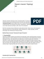 √ Pengertian dan Macam-macam Topologi Jaringan Komputer