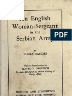 An English Women-Sergeant in the Serbian Army (1916.) - Flora Sandes