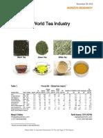 World Tea Industry