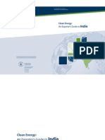 Clean Energy Market Entry Project India