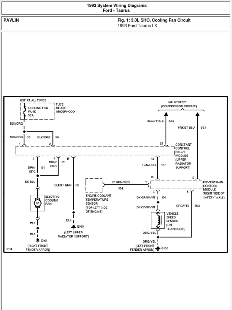 1993 Ford Taurus Wiring Diagram Wiring Diagrams Name Name Miglioribanche It