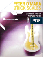 A Rhythmic Concept for Funk Fusion Bass (Peter O'Mara & Patrick Scales)