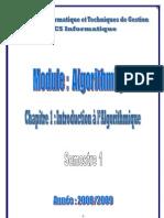 Chapitre-1- Introduction lAlgorithmique