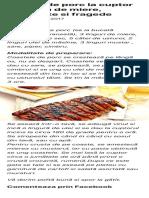 Coaste de Porc Caramelizate