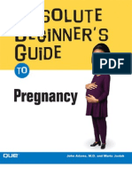 Absolute Beginner s Guide to Pregnancy