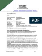 UT Dallas Syllabus for entp6380.0g1.11s taught by Daniel Bochsler (dcb091000)
